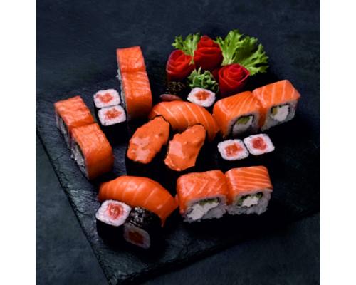 Сет №1 с лососем