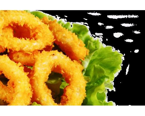 Кольца кальмара в панировке